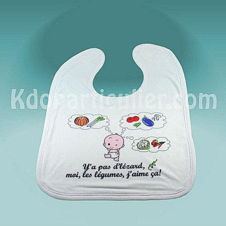 bavoir de bébé personnalisé