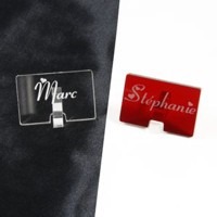 marque-place mariage rectangle