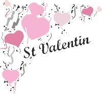 coeurs de saint-valentin