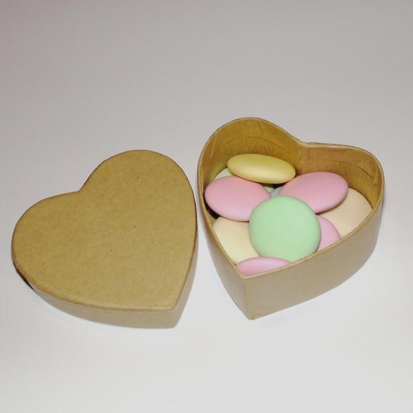Petite boite drag es en forme de coeur personnaliser boite colo en carton graver - Petite boite allumette a personnaliser ...
