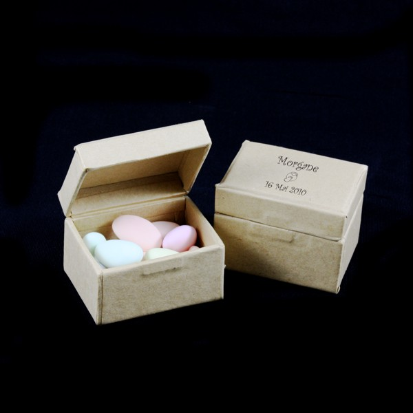 Petite boite drag es carton rectangle aimant e - Petite boite allumette a personnaliser ...