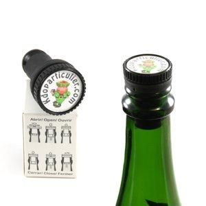 bouchon de bouteille à personnaliser