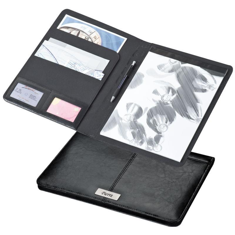 Porte document personnalis en cuir - Porte document personnalise ...