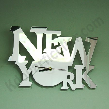 Horloge murale New-york Paris London