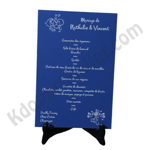 menu de mariage taille maxi. Black Bedroom Furniture Sets. Home Design Ideas