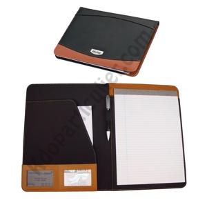 porte documents personnalisé cuir