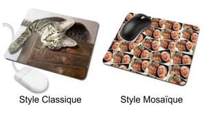 style de photo pour tapis de souris personnalisé