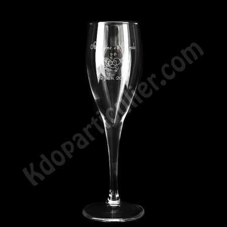 flute à champagne personnalisée